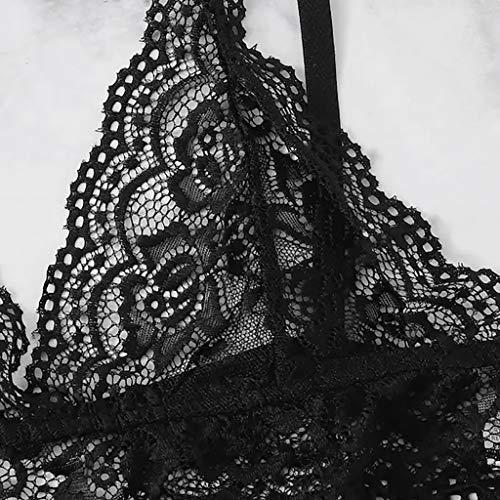 c9463f528c Lencería Mujeres Interior Sexo Verde Erotica SujetadorTops Dormir Ropa  Encaje Para Lenceria Mujer Exquisito De Sexy Talla Conjunto yusealia Grandes  ...