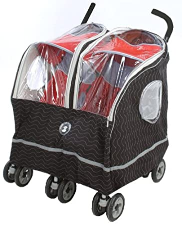 99deef5bf0f7 Amazon.com   Warm as a Lamb Twin Stroller Cover Black (Discontinued ...