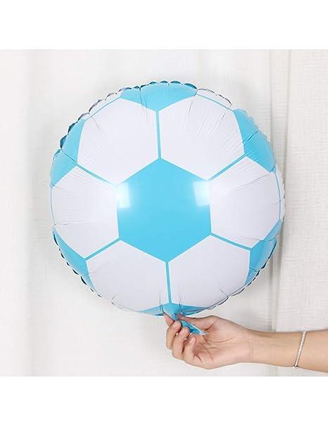 ZLJTT Diseño de fútbol de 18 Pulgadas Globo de Aluminio ...