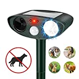 Best Dog Repellents - Humutan Ultrasonic Dog Repellent, Outdoor Solar Powered Review