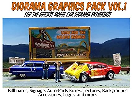 picture regarding Diorama Backgrounds Free Printable identify : Jacobs Toyland Diorama Graphics Pack Vol. 1