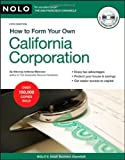 img - for How to Form Your Own California Corporation (Book with CD) by Mancuso Attorney, Anthony (March 6, 2009) Paperback book / textbook / text book