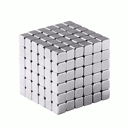 Multi-Use Magnetic Holder - Small Square Cube Magnets (216 Pack)