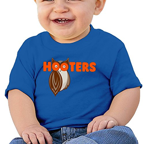 Infants T Shirts Toddlers Cotton Short Sleeves Save The Hooters Owl Boys Girls 6-24 Months