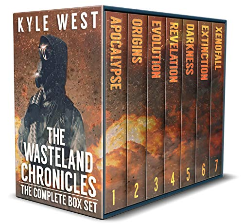 The Wasteland Chronicles: The Post-Apocalyptic Box Set (Books 1-7) by [West, Kyle]