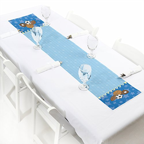 All Star Sports Table (All Star Sports - Petite Baby Shower or Birthday Party Paper Table Runner - 12