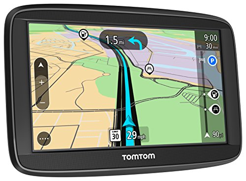 TomTom VIA 1625M 6-Inch Portable Touchscreen Car GPS Navigation Device - Lifetime Map Updates