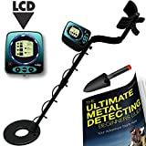 Metal Detectors Waterproof Metal Detector LCD Display