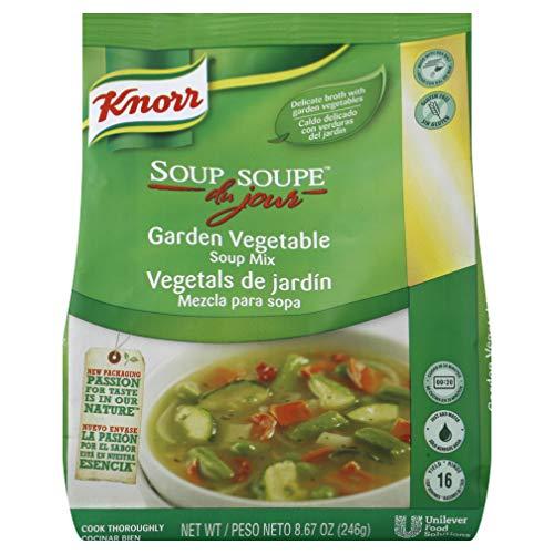 Knorr Soup du Jour Mix Garden Vegetable 8.7 ounces 4 count by Knorr