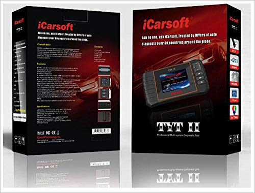 iCarsoft TYT II OBDII diagnostic tool for Toyota/Lexus/Scion/Isuzu multi systems, Oil SRS ABS Engine by iCarsoft (Image #3)