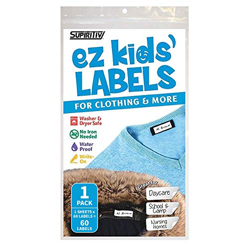 Ez Kids Clothing Labels