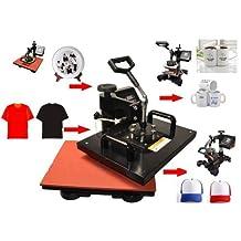 Gowe Advanced New Design 8 In 1 Combo Heat Press Machine ,Plate/Mug/Cap/TShirt heat press,heat transfer machine,Sublimation machine