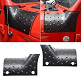AL4X4 Cowl Body Armor Outer Cowling Cover for 2018 2019 Jeep Wrangler JL Sahara Sport Sports Rubicon