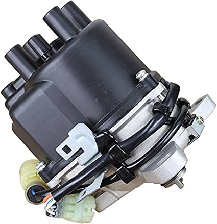 Ignition Distributor for Honda Civic CRX Distributor L4 1.5L Compatible with TD01U 84-17401