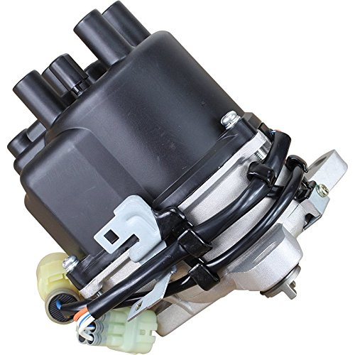 AIP Electronics Heavy Duty Stock Series Complete Electronic Ignition Distributor Compatible Replacement For 1988-1991 Honda Civic CRX 1.5L With TEC Distributor OBDO Oem Fit ()