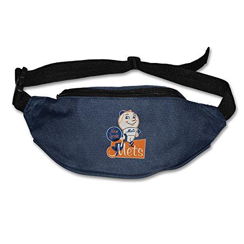Kim Lennon Mascot Mr. Mets Oxford Multiple Pocket Waist Pack (Notre Dame Mascot Costume)
