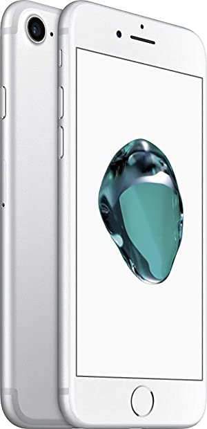 Apple iPhone 7 Unlocked GSM Phone 128 GB - US Version (Silver)