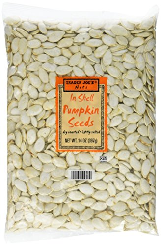 Trader Joe's Nuts Inshell Pumpkin Seeds 14oz Set of 3