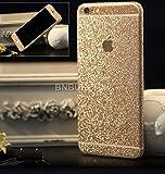 BNBUKLTD® Full Body Diamond Wrap Bling Decal Vinyl Glitter Sticker Skin Cover For Apple iphone 6 & 6S (Gold)