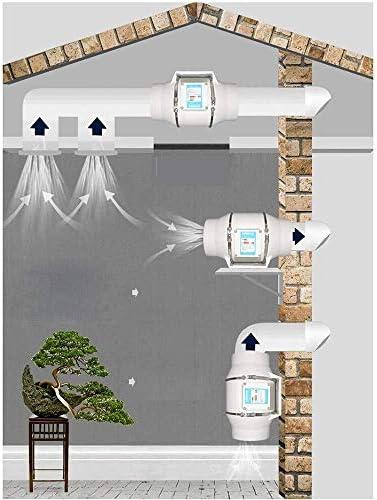 WHL Belüftung Lüfter Rundrohr Lüfter 125mm Küche Öl Fume Fan Leistungsstarke Ventilator Badezimmer Silent-Ventilator 5 Zoll gesundes Leben lässt Luft verteilen Mehr