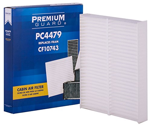 PG Compatible Cabin Air Filter | Replacement for PC4479 if appliacable 2018-2017 Chrysler Pacifica, 2017-2011 Dodge Grand Caravan 3.6L, 2012-2008 Infiniti EX35, 2018-2017 Nissan Armada, 2009-19 GT-R