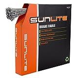 Sunlite Bulk Box Brake Cables, 1.6 x 1700mm, SS ATB, Box of 100