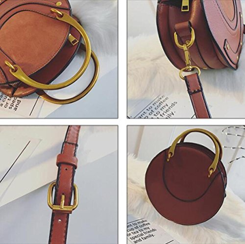 Messenger Gray Handbag Round Female Bag Bag Shoulder Female DHFUD 6qtZUw