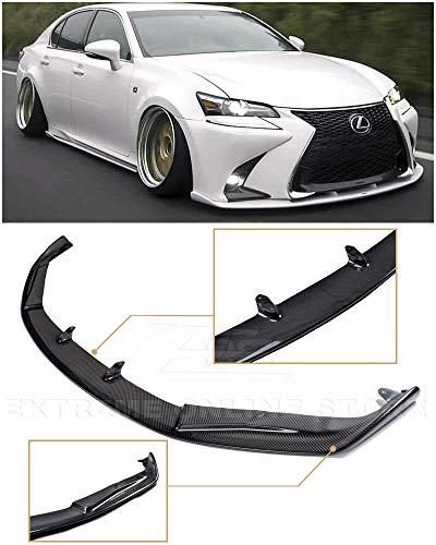 - Extreme Online Store for 2016-Present Lexus GS-Series | EOS JDM Lexon Style Carbon Fiber Front Bumper Lower Lip Splitter