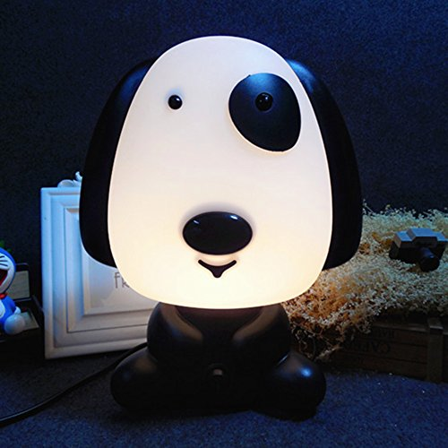 Accreate Cartoon Table Light Night Lamp Bed Light Home Office Decor (Rich dog) by Accreate (Image #2)'
