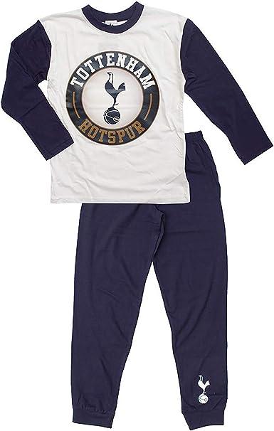 Boys Kids Tottenham Hotspur Pyjamas Spurs Long Sleeve Official 100/% Cotton 4-6