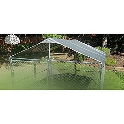 Weatherguard Dog Kennel Cover by Jewett Cameron Lumber Corp