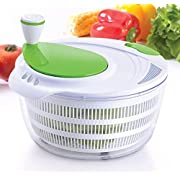 Amazon Lightning Deal 91% claimed: Kuuk Salad Spinner - Dry Salad, Vegetables, Fruit, Pasta