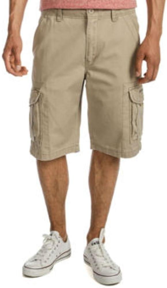 Unionbay Men's Reuben Cargo Short Washable Cotton Twill