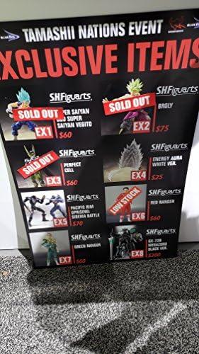SH FIGUARTS San Diego comic-con 2018 événement Exclusif Super Saiyan God Super Saiyan Vegito New