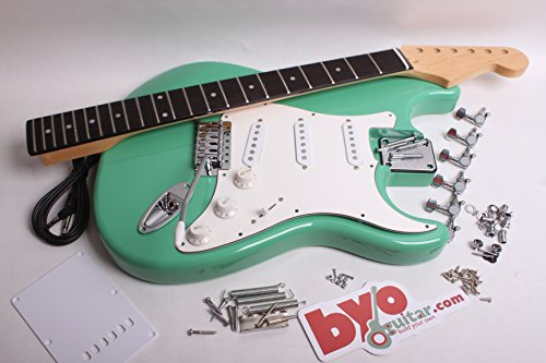 Finished Strat Electric Guitar Kit
