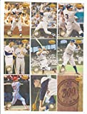1994 Ted Williams 500 Home Run Club 9 Card Insert Set Mickey Mantle++