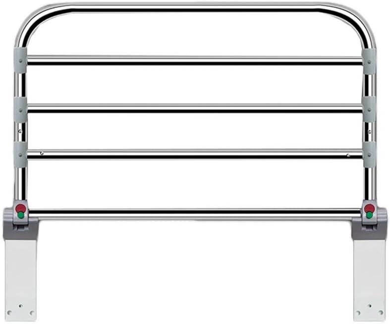 Barreras para puertas y escaleras ZZRS Acero Cama Assist raíl Extensible Plegable, médico de cabecera del Carril for los Adultos Mayores, Altura 50 cm (Size : 90cm): Amazon.es: Hogar