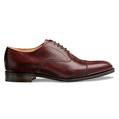 aff3eac1843fe Cheaney Lime Classic Oxford in Burgundy Calf Leather: Amazon.co.uk: Shoes &  Bags
