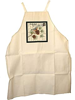 product image for Alice's Cottage Christmas Holiday Apron - Nuthatch