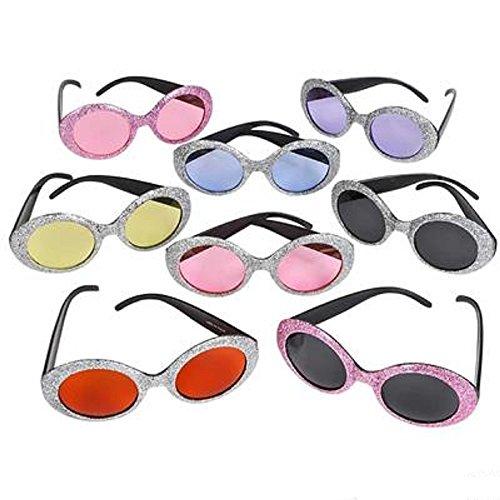 (Pop Star Glitter Sunglasses. One)