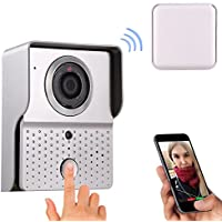 Asatr Home Security System Smart Control WiFi Wireless Enabled Video Visual Intercom Doorbell(US Stock)