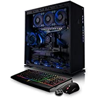 CybertronPC CLX SET GXM7206A VR-Ready Gaming PC - Liquid-Cooled AMD Ryzen 7 1700X 3.40GHz 8-Core, 32GB DDR4, 2x NVIDIA GTX 1070 SLI, 250GB SSD, 3TB HDD, Win 10