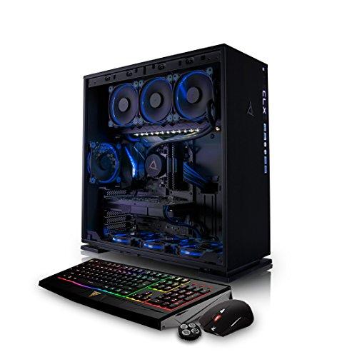 Power Supply Liquid Cooled (CybertronPC CLX SET GXM7206A VR-Ready Gaming PC - Liquid-Cooled AMD Ryzen 7 1700X 3.40GHz 8-Core, 32GB DDR4, 2x NVIDIA GTX 1070 SLI, 250GB SSD, 3TB HDD, Win 10)