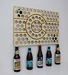 Colorado Beer Cap Map - Holds Craft Beer Bottle Caps (20in)