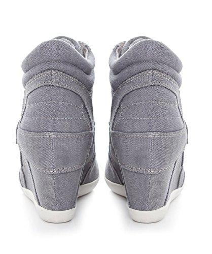 Ash Bowie Zapatillas Deportivas de Cuna Gris, Mujer Gris