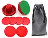 Qtimal Home Standard Air Hockey Paddles and 2