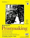 "Strathmore 300 Series Printmaking, Lightweight, 8""x10"" Glue Bound, 40 Sheets"