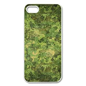 Military Camouflage Patterns Watercolor style Cover iPhone 5 and 5S Case
