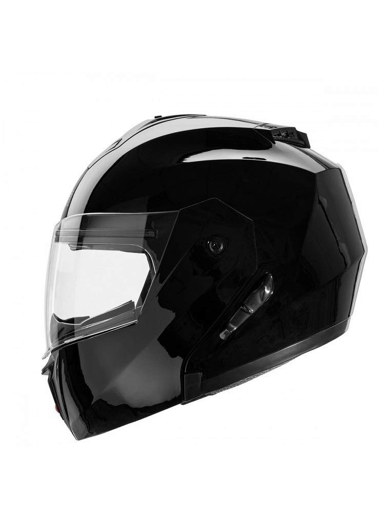 interior desmontable y lavable con doble visor Cruizer/-/Casco modular homologado de color blanco M Bianco visera integral