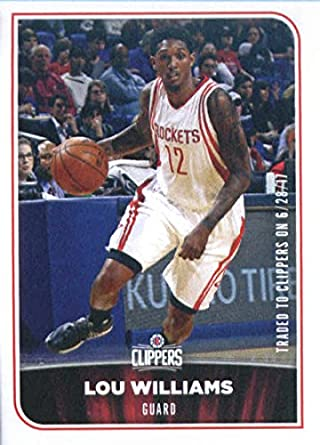2017-18 Panini NBA Stickers #247 Lou Williams Los Angeles Clippers Basketball Sticker